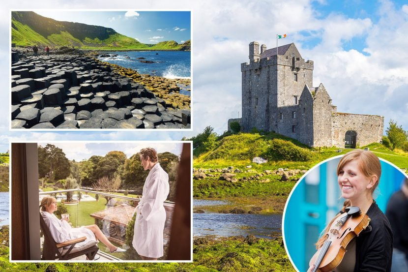 Head north and south of the Irish border — for superb spots Galgorm & Galway