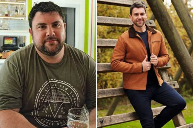 Dad loses 12st by ditching beer and burgers after signing up for London Marathon as a joke