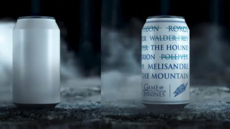 A can with no name: how Game of Thrones finale frenzy is bubbling up