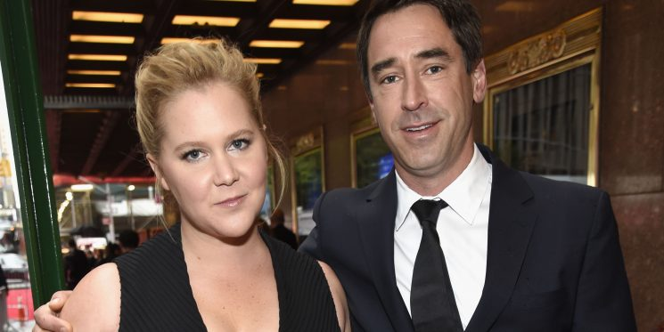 Amy Schumer Says Husband Chris Fischer Was Diagnosed With Autism Spectrum Disorder While They Were Dating