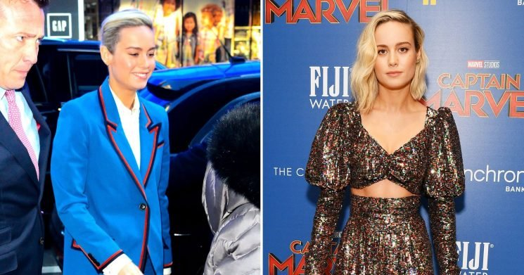 Brie Larson Wears Two Pantsuits in One Day: Shop the Look
