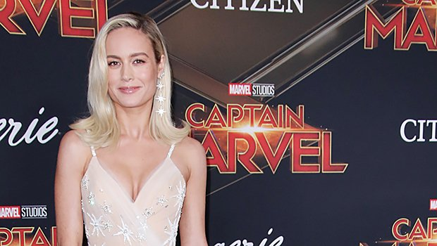 Brie Larson Wears Sheer Embellished Gown To 'Captain Marvel' Premiere