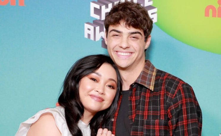 These Photos Of Lana Condor & Noah Centineo At The Kids' Choice Awards Will Melt Your Heart
