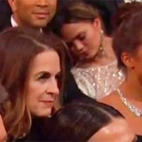 National Napping Day: 6 Stars Caught Sleeping In Weird Places: Chrissy Teigen At The Oscars & More