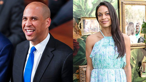 Cory Booker Gushes Over Rosario Dawson In 1st Interview About Her: She 'Makes Me A Better Person'