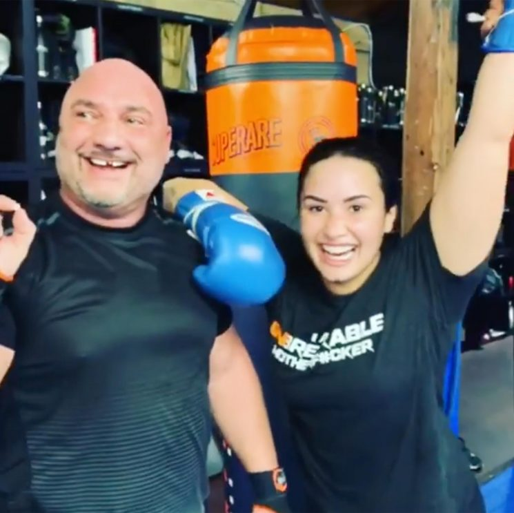Fighting Fierce! Demi Lovato Knocked Out Her MMA Trainer's Tooth