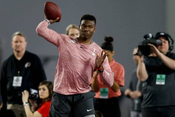 Pat Shurmur's take on Dwayne Haskins' Pro Day: 'Impressive … excellent'