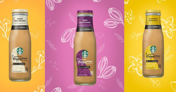 BRB . . . Stocking My Fridge With New Starbucks Bottled Frappuccinos — in Every Flavor!