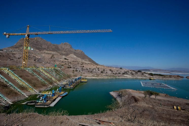 Chile testing floating island of solar panels to power mines