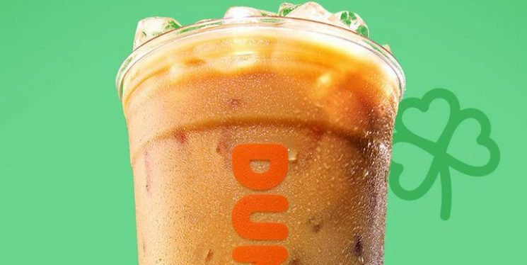 Irish Creme Coffee Is Finally Back at Dunkin' Just in Time For St. Patrick's Day