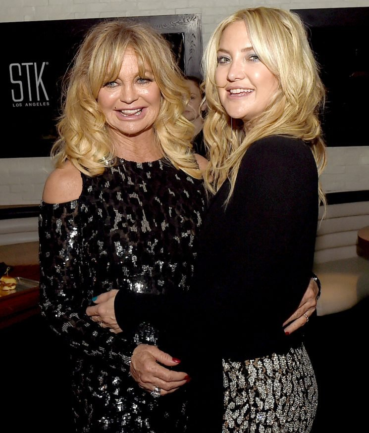 Kate Hudson Reveals the One Thing Mom Goldie Hawn Taught Her About Co-Parenting with Exes