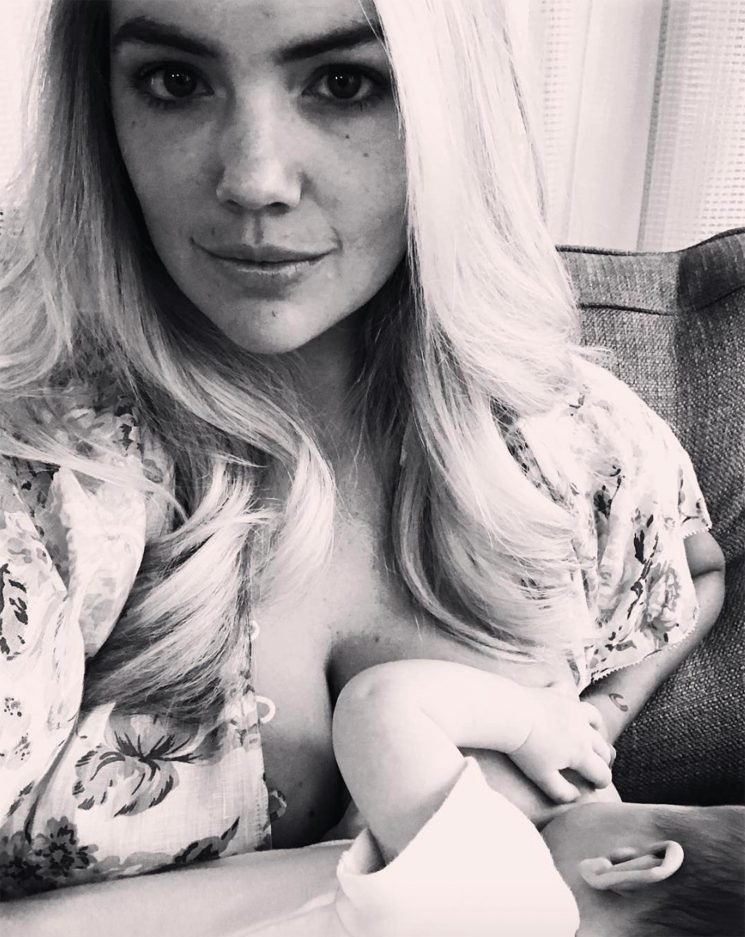 Kate Upton Shares Breastfeeding Selfie with Her Daughter to Celebrate International Women's Day