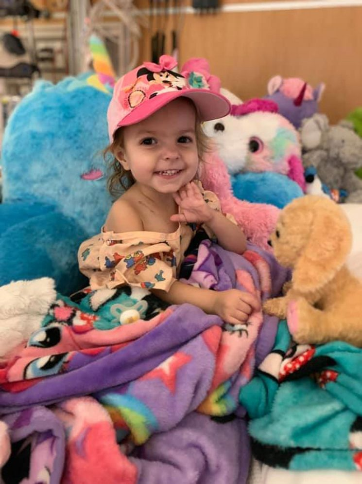 2-Year-Old Georgia Girl Diagnosed with Rare Ovarian Cancer: 'How Could This Happen?'