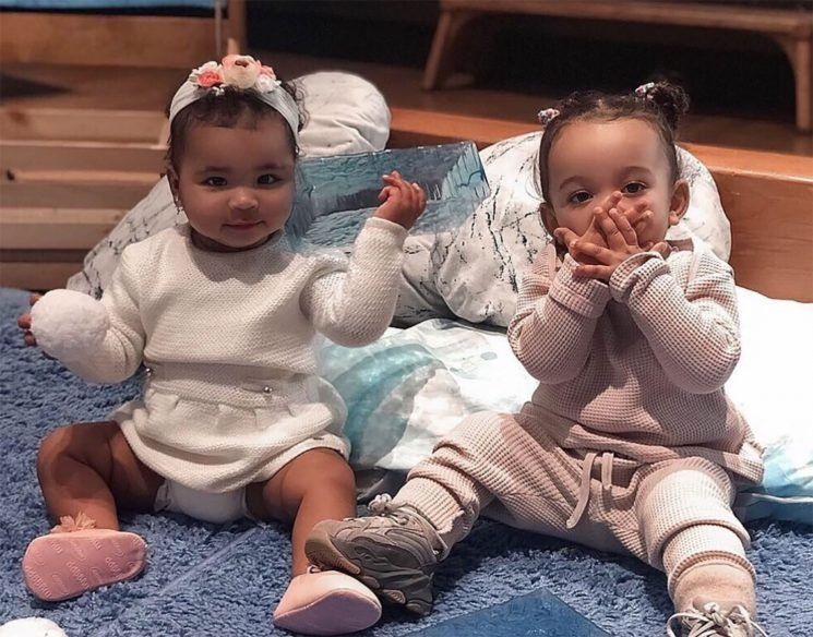 Kim Kardashian Shares Sweet Snaps of Chicago & True: 'Can't Wait to Hear what They Talk About'