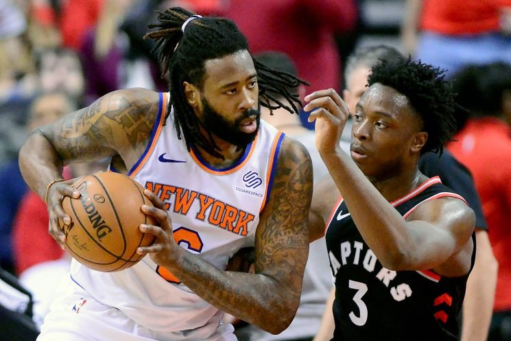Fizdale pulls starters in Knicks' ugly rout to Kawhi-less Raptors