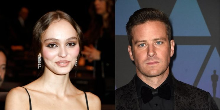Lily-Rose Depp Will Soon Be Acting Alongside Armie Hammer in Dreamland