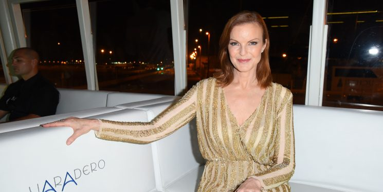 'Desperate Housewives' Star Marcia Cross Just Shared A Heartbreaking Post About Her Friend Who Died From Ovarian Cancer