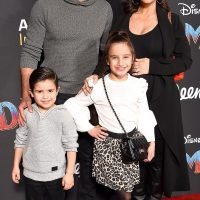 Flying High! Mario Lopez Takes Pregnant Wife Courtney and Their Kids to Dumbo Premiere