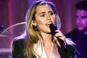 Miley Cyrus Cries At 'Voice' Star Janice Freeman's Memorial: 'She Taught Me Everything I Know About Love'