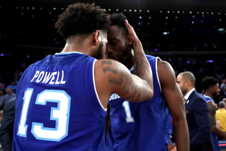 Myles Powell got a reprieve, and the rest was history