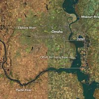 This is what Nebraska's record-setting floods look like from space