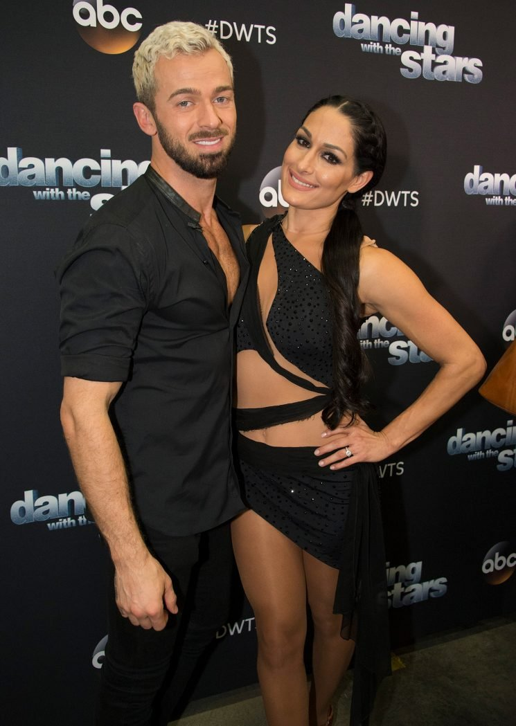 Nikki Bella Spotted Kissing Artem Chigvintsev After Revealing They Have 'Amazing Chemistry'