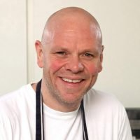 What age is Tom Kerridge, how much weight did he lose and where's the chef's pub The Hand and Flowers?