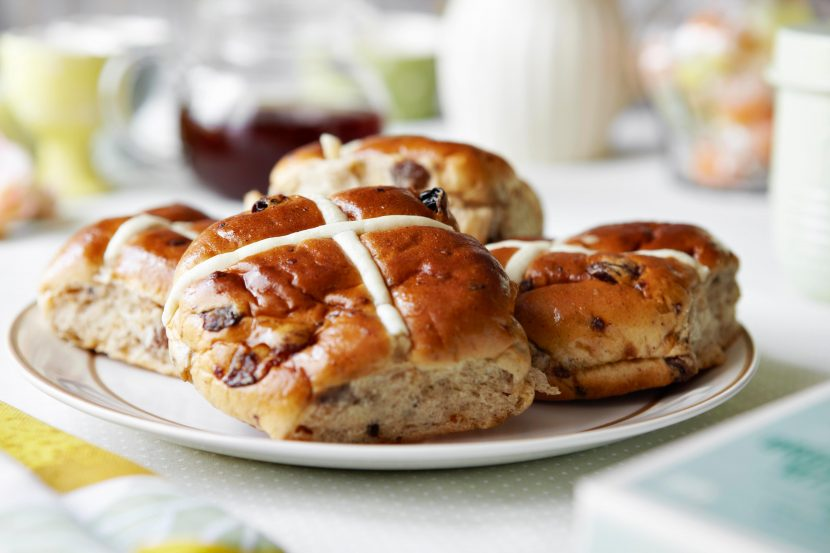What ingredients are in a hot cross bun recipe, how do you make them and why do we eat them at Easter?