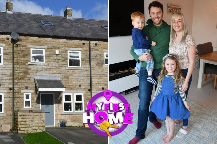 How having a baby helped us save £20k deposit for £180k four-bed house