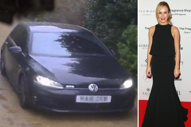 Amanda Holden reveals she's too terrified to leave her home after being 'followed by male stranger in a car'