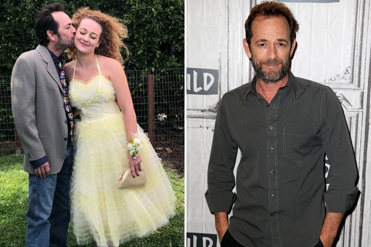 Luke Perry's daughter, 18, made frantic journey to his bedside from South Africa and made it in time to say final goodbye