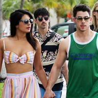 Priyanka Rocks Bandeau Top & Sophie Turner Goes For Short Shorts On Boat Ride With Nick & Joe Jonas
