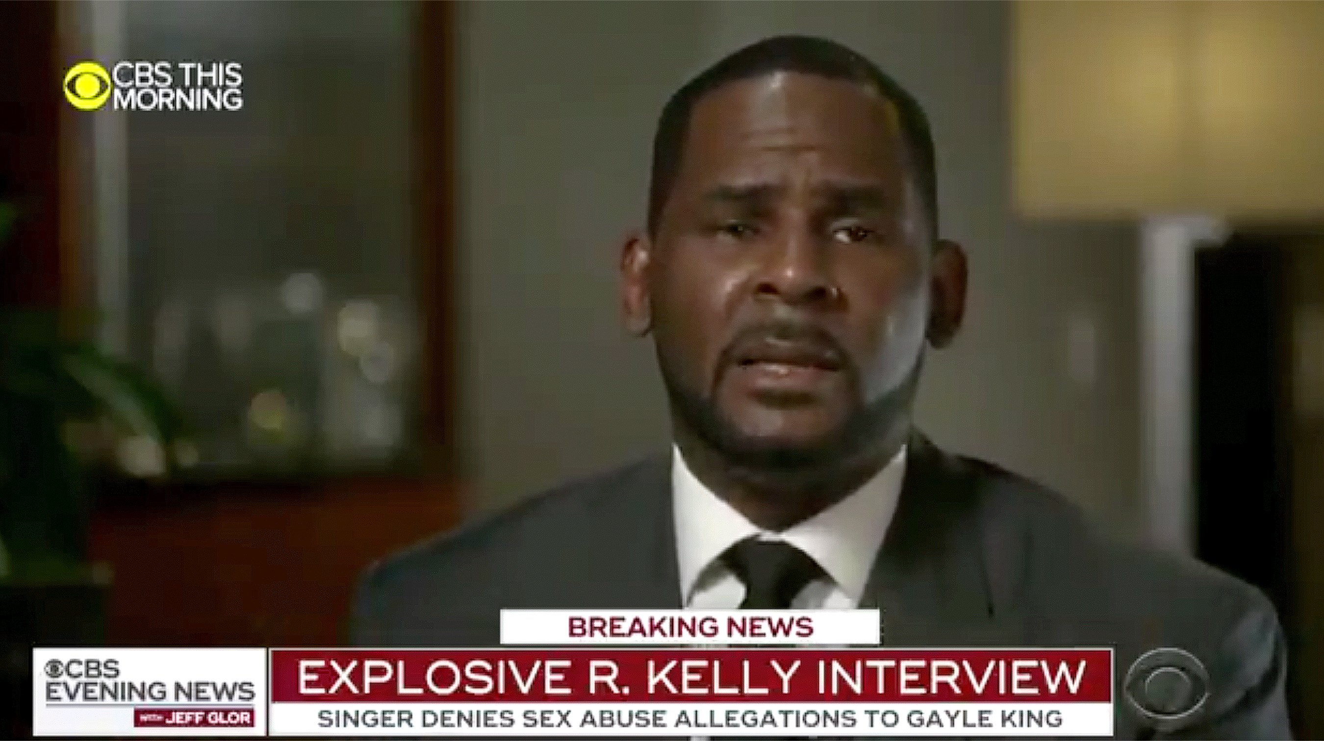 R. Kelly Lashes Out in Emotional First Interview Since His ...