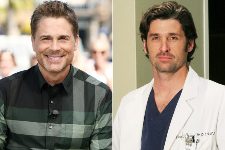 Rob Lowe reveals he turned down playing McDreamy on Grey's Anatomy
