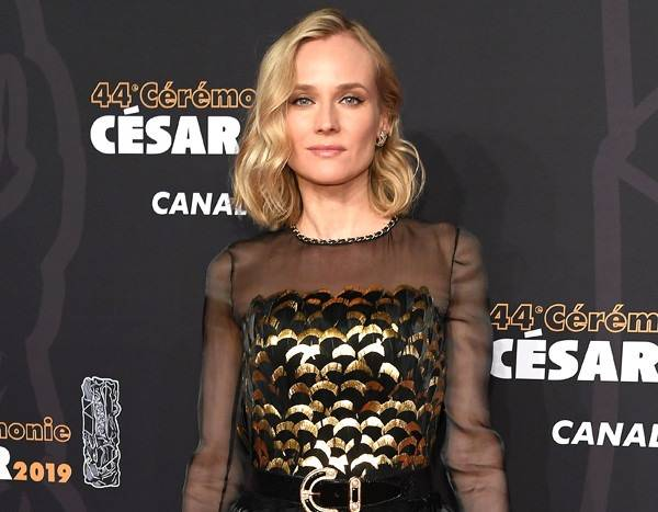 Diane Kruger Showcases Her Abs 4 Months After Giving Birth