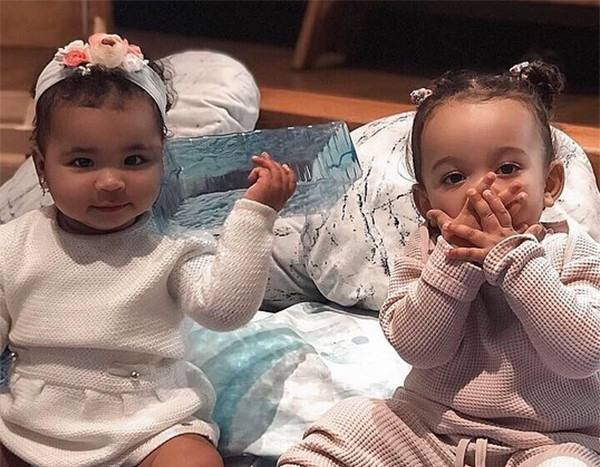 True Thompson and Chicago West Have an Adorable Baby Gossip Sesh