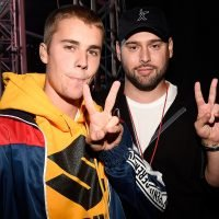 Scooter Braun Wishes Justin Bieber Happy 25th Birthday with Throwback Photo: 'I Love You'