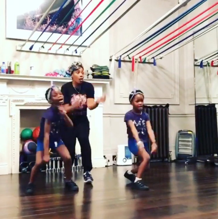 One 'Happy' Family! Madonna Shares Adorable Video of Twin Daughters Dancing to Pharrell Tune