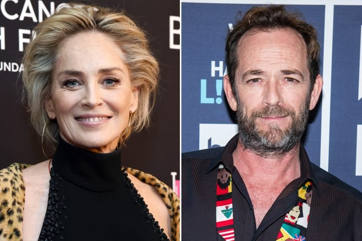 Stroke Survivor Sharon Stone Gives Her Support to Luke Perry: 'You Can Come All the Way Back'