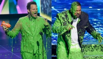 Will Smith, Chris Pratt & More Stars Get Covered In Slime At 2019 KCAs — Pics