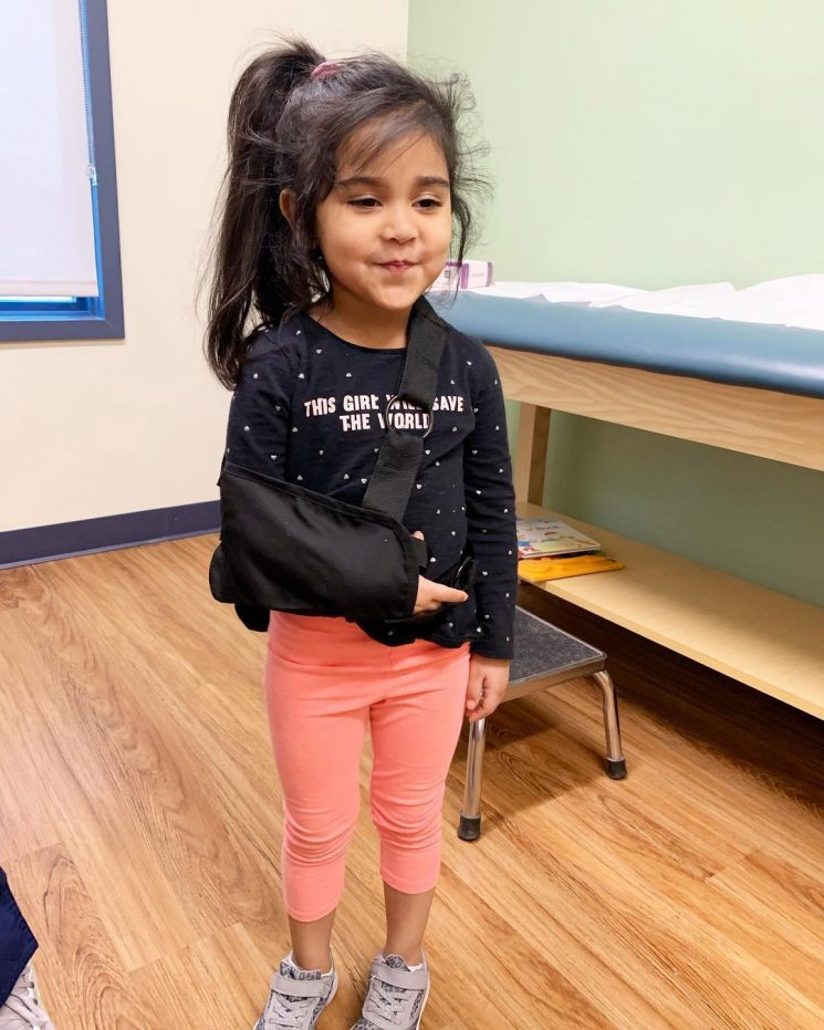 Pregnant Nicole 'Snooki' Polizzi's Daughter, 4, Is 'Doing Just Great' After Breaking Her Arm