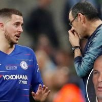 Sarri has not spoken with Hazard about Zidane's return to Real Madrid but ex-Prem owner Jordan gives Chelsea hope of keeping talisman