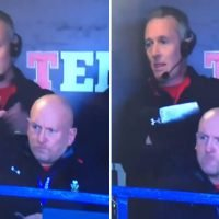 Wales coach Shaun Edwards left hanging by Rob Howley for high five during Scotland clash
