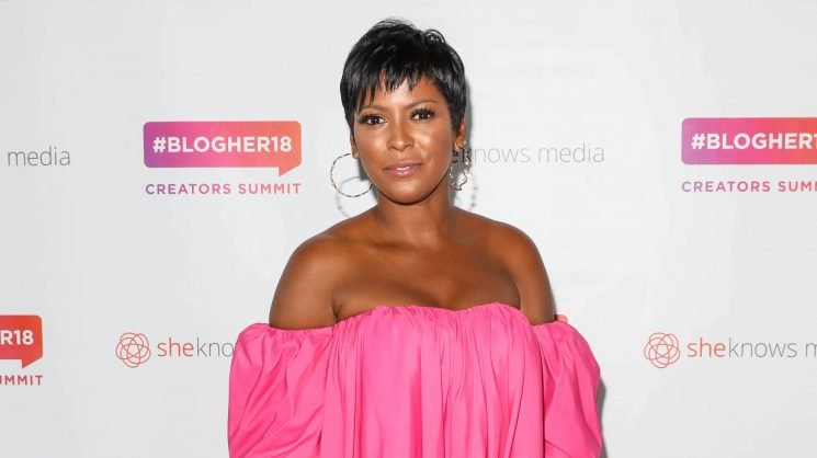 Tamron Hall Announces Pregnancy at 32 Weeks — With Some Adorable Help