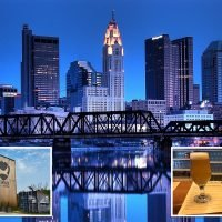 High-altitude Flight Club ale on way to Brewdog's new hotel in Columbus, Ohio