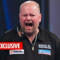 Married love rat Raymond van Barneveld sends young women sleazy messages begging for dates and sex
