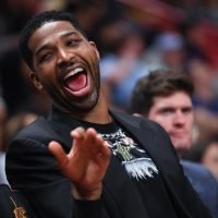 Tristan Thompson Is All Smiles in Miami After Jordyn Woods Breaks Social Media Silence