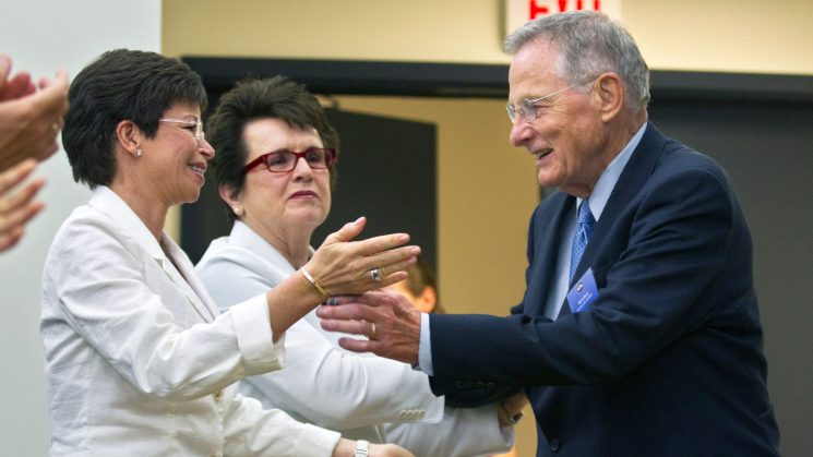 Opinion: American women had a powerful ally in Birch Bayh, author of Title IX
