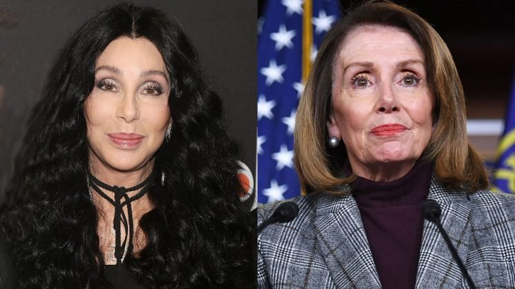Cher honors Nancy Pelosi, slams Donald Trump and 'old white men' at VH1's 'Trailblazer Honors'