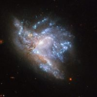 NASA's Hubble captures stunning image of two colliding galaxies